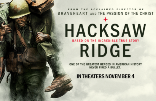 Hacksaw Ridge Trailer: https://youtu.be/sslCRVx7nPQ