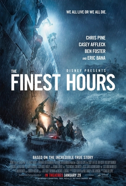 The Finest Hours Official Trailer : https://youtu.be/0jLXw5DqTbQ