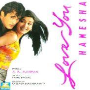 Love You Hameesha | Audio: http://www.saavn.com/s/album/hindi/Love-You-Hamesha-2000/GrW-vHQ9-4c_ | Video: https://www.youtube.com/watch?v=AJMC717Yr5Q